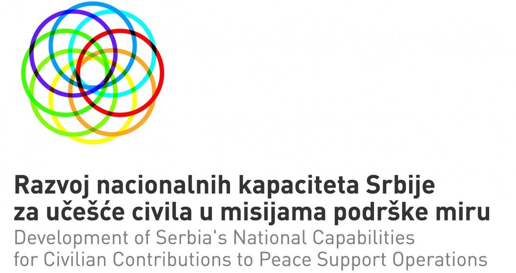 Civili u misijama podrske miru logo